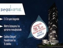 Pega Kartal'da lansmana özel ilk fiyat avantajı!